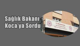 Milletvekili Uğur Bayraktutan: bu defa da Kemalpaşa sağlık ocağını Bakan Koca'ya sordu.