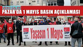 Pazar'da 1 Mayıs Basın açıklaması
