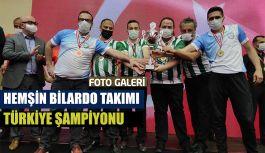 Türkiye Şampiyonu Hemşin'den