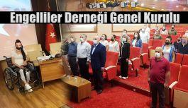 BEDENSEL ENGELLİLER DERNEĞİ GENEL KURULU YAPILDI