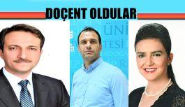 RTEÜ'NİN YENİ DOÇENTLERİ