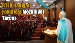 İlahiyat Fakültesi 2020-2021 Akademik Yılı Mezuniyet Töreni yapıldı.