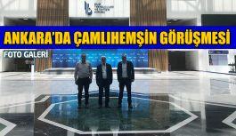 İlçe Başkanı, Belediye Başkanı ve İl Genel Meclisi Üyesi Ankara'da