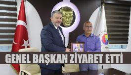 MÜSİAD GENEL BAŞKANI, HOPA TİCARET VE SANAYİ ODASI'NI ZİYARET ETTİ