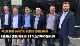 PAZARSPOR YÖNETİMİ İSTANBUL'DA: KURA ÇEKİMİ PAZARTESİ