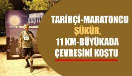 Tarihçi Rıdvan Şükür, Büyükada gece koşusuna katıldı