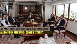 Vali Kemal Çeber'i Ziyaret Etti