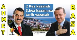 Ak Parti Pazar'da Ahmet Basa ile devam dedi
