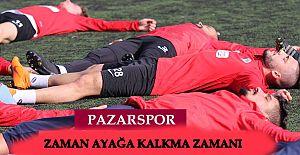 Pazarspor 'da yoğun Mesai İki hafta iç sahada oynayacak
