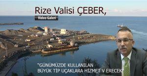 Rize Valisi ÇEBER'den Havalimanı açıklaması
