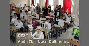 Rize'de Akıllı İlaç Kullanımı Eğitimi