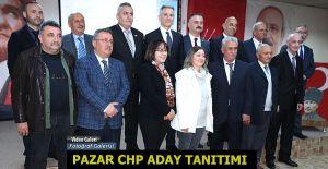 Pazar CHP'de Aday Tanıtımı Programı yapıldı