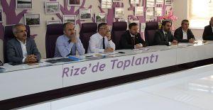 Rize'de Değerlendirme Toplantısı Düzenlendi
