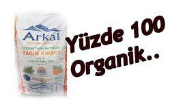 YÜZDE 100 ORGANİK SERTİFİKALI TARIM...