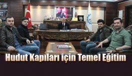 HUDUT KAPILARI TEMEL EĞİTİM KURSUNA EV...