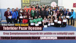 Rizeyi Türkiye Şampiyonasında Çamlıhemşin Temsil edecek