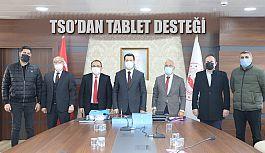 TSO'DAN TABLET KAMPANYASINA DESTEK