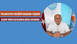 BAŞKAN MUSTAFA TAŞKIN'DAN SEZON SONU...