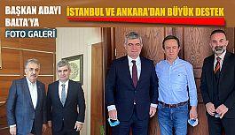 Pazarspor'da Başkan Adayı Balta'ya...