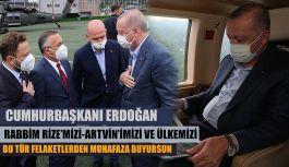 Cumhurbaşkanı Recep Tayyip Erdoğan Rize'de…