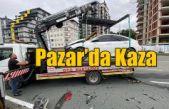 Pazar'da Kaza
