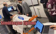 RTEÜ'de Hastane Öncesi Acil Sağlık Simülasyon Eğitimi Verildi