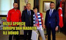 AZMİ KOCABEY'DEN AVRUPA'DA BRONZ MADALYA