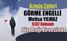 Türkiye' nin çatısı olan Ağrı'nın zirvesinde