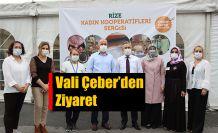 ÇEBER'den Kadın Kooperatifleri Sergisine Ziyaret...