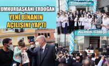 Erdoğan, RTEÜ Diş Hekimliği Fakültesi'nin Yeni Binasının Açılış Törenine Katıldı