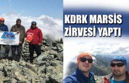 KDRK'DAN MARSİS ZİRVESİ