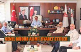 RİZE İRŞAD VAKFINDAN ÇAYKUR GENEL MÜDÜRÜ ALİME'E...