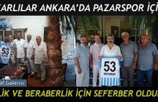 ANKARA PAZARLILAR DERNEĞİ PAZARSPOR İÇİN SEFERBERLİK...