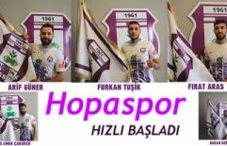 ARTVİN HOPASPOR'DAN TRANSFER ATAĞI