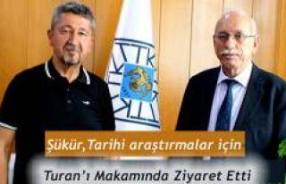 Rıdvan Şükür, Türk Tarih Kurumunda.
