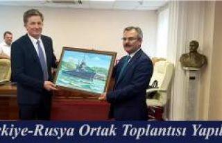 TÜRKİYE-RUSYA ORTAK GÜMRÜK KOMİTESİ TOPLANTISI...