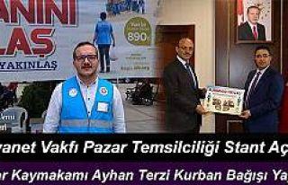 Türkiye Diyanet Vakfı Rize-Pazar Temsilciliği kurban...