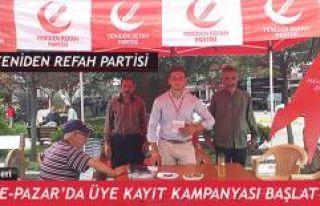 Yeniden Refah Partisi Rize-Pazar İlçe Teşkilatı...