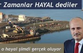 """Bakanı Cahit Turhan"""" Projenin yüzde 40'a..."""