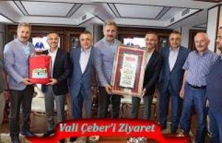 İstanbul Dernekler Federasyonundan Vali Çeber'e...