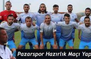 Pazarspor Erzurum'da seri hazırlık maçlarına...