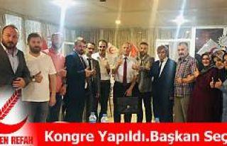 Kongrede Yazıcıoğlu Başkan Seçildi