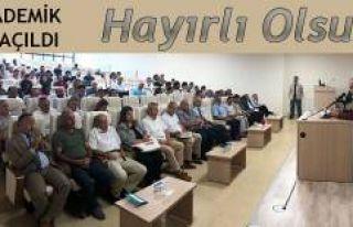 RTEÜ Akademik Yıl Açılışı