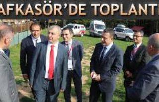 ASKOM TOPLANTISI KAFKASÖR YAYLASI'NDA GERÇEKLEŞTİRİLDİ
