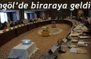 İhtisas Üniversitesi Rektörleri Bingöl'de Bir...