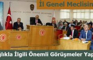 İl Genel Meclisi Olağan toplantısı yapıldı.