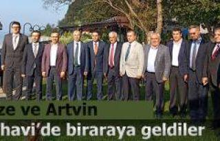 KAÇKAR TURİZM BİRLİĞİ EKİM AYI MECLİS TOPLANTISI...