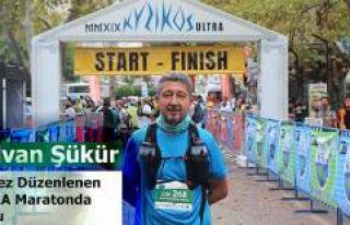 Rıdvan Şükür, Kyzikos Ultra Maratonunda koştu