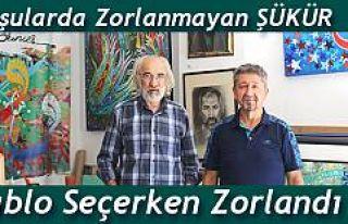 Rıdvan Şükür, Türk tarihini anlatan ünlü ressamın...