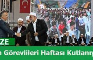 Rize'de Camiler ve Din Görevlileri Haftası Kutlanıyor
